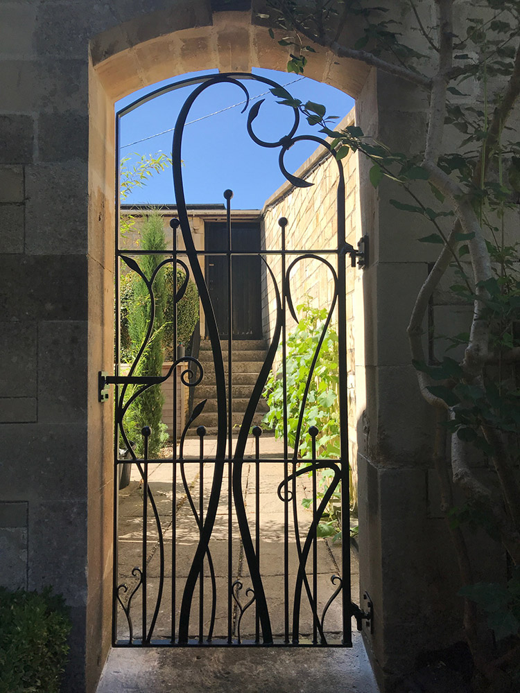Garden Gate Bath Simon Connett Blacksmith Dorset