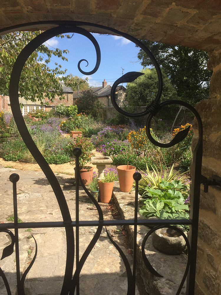 Walled Garden Gate Simon Connett Blacksmith Devon