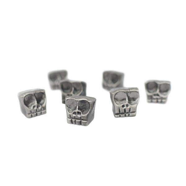 Sugar Skull Good Luck Charm - Simon Connett Blacksmith