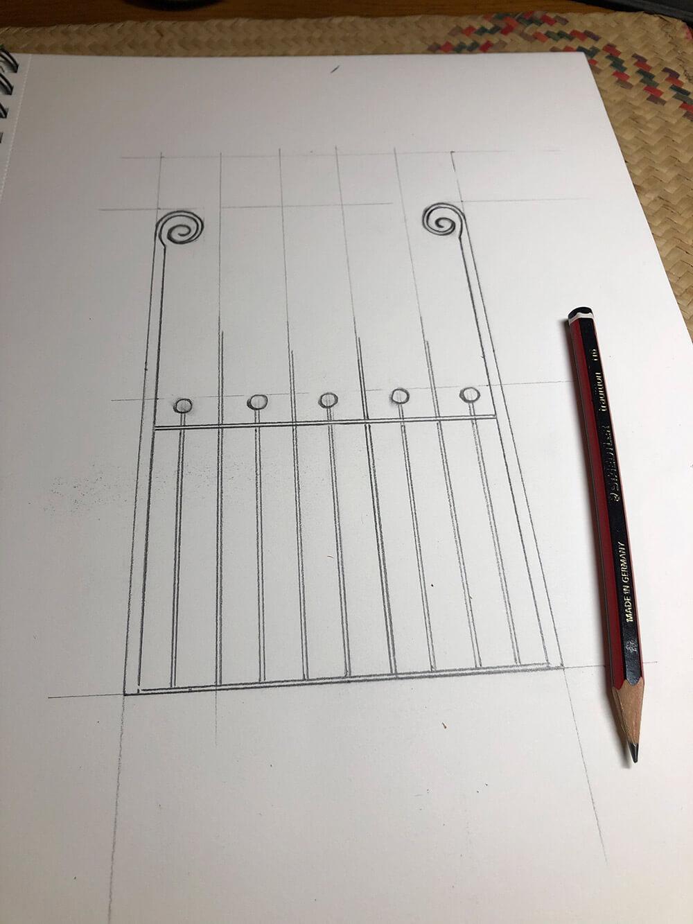 Ivy Gate Drawing