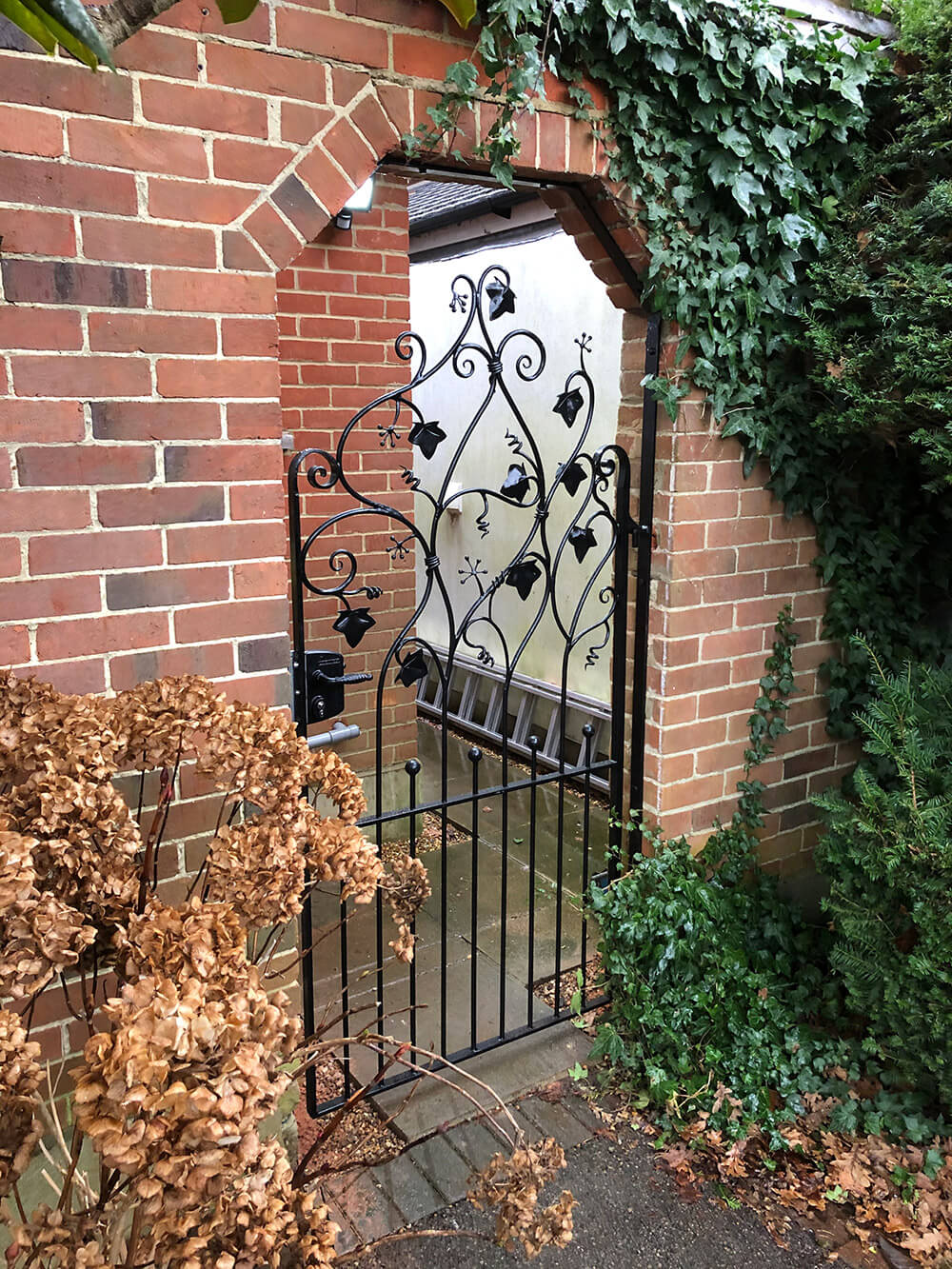 Ivy Gate Finished and Installed